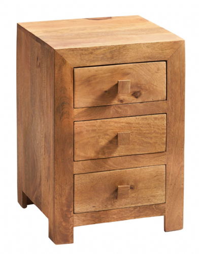 Tokyo Light 3 Drawer Lamp Table